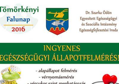 Tömörkényi Falunap - EFI szűrés