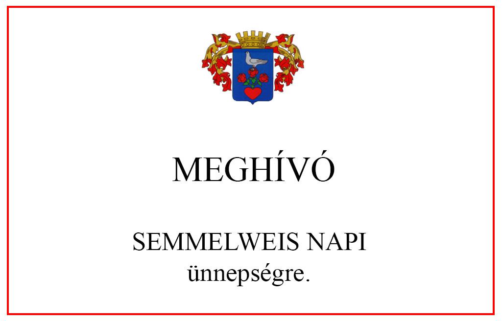 Meghívó a Semmelweis Napra
